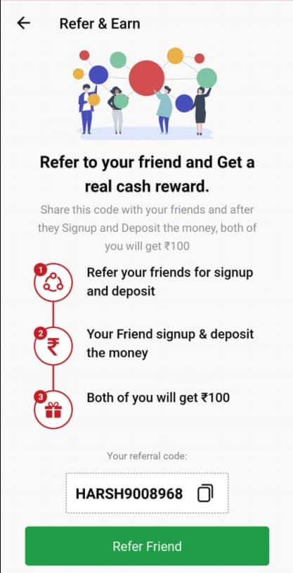 Vision 11 Referral code