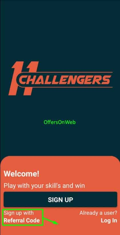 11 Challengers signup
