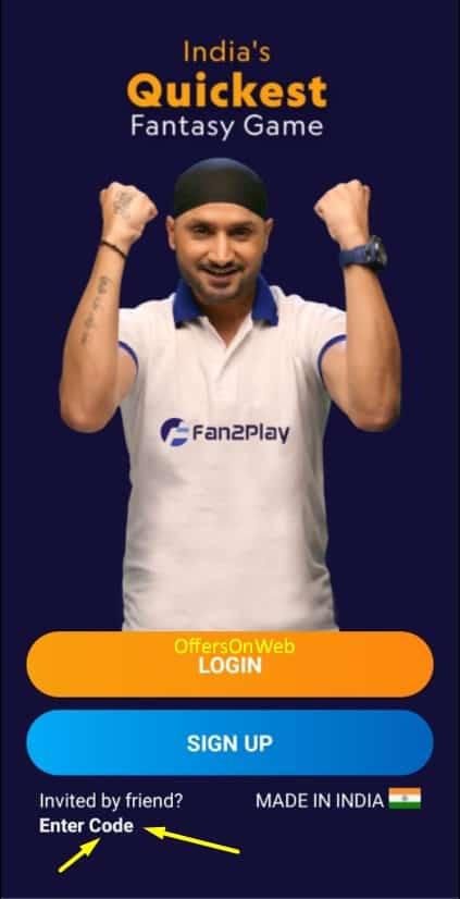 Fan2play register